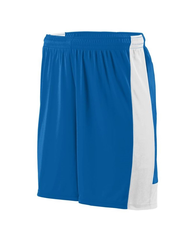 1606 Augusta Sportswear ROYAL/ WHITE