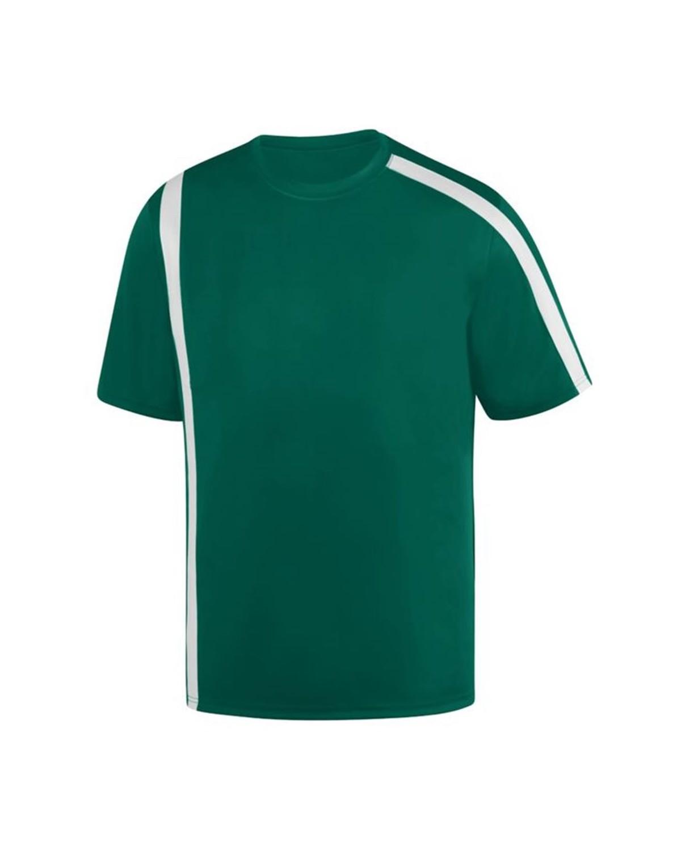 1620 Augusta Sportswear Dark Green/ White