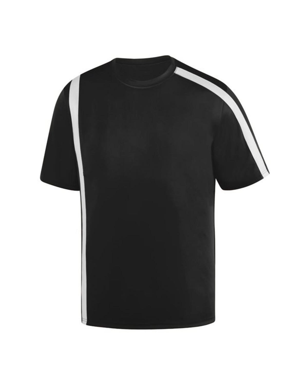1620 Augusta Sportswear BLACK/ WHITE