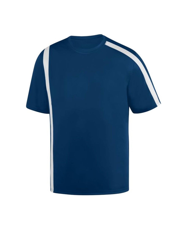 1620 Augusta Sportswear NAVY/ WHITE