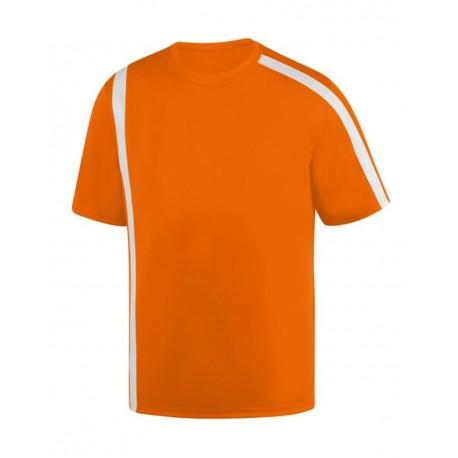 1620 Augusta Sportswear 1620 Attacking Third Jersey Power Orange/ White