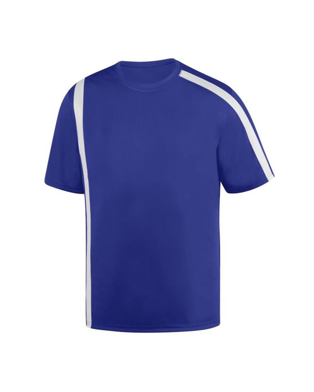 1620 Augusta Sportswear PURPLE/ WHITE