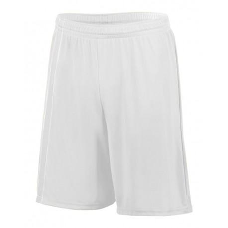 1623 Augusta Sportswear 1623 Youth Attacking Third Shorts WHITE/ WHITE