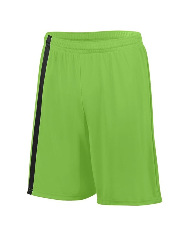 1623 Augusta Sportswear Lime/ Black