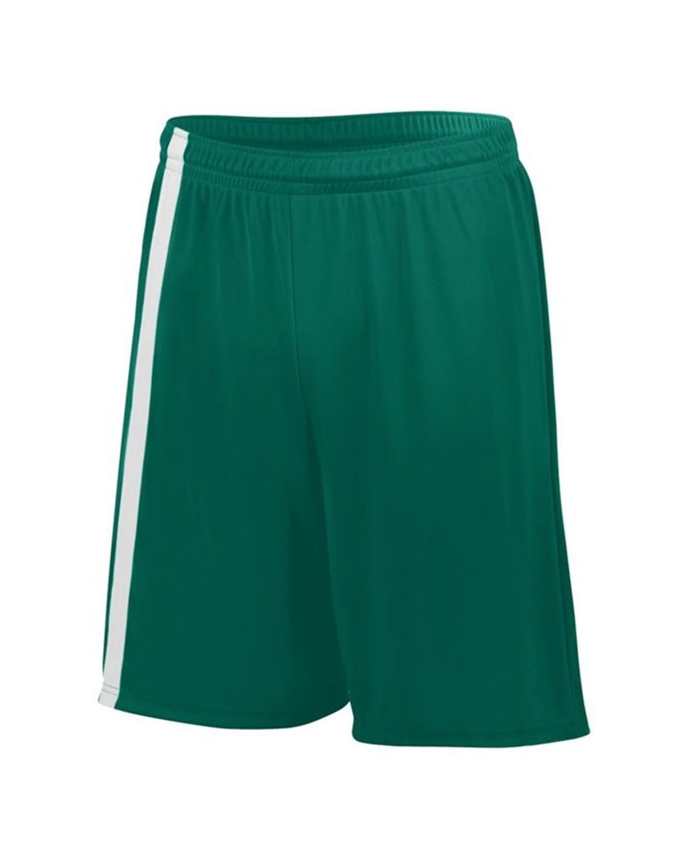 1623 Augusta Sportswear Dark Green/ White
