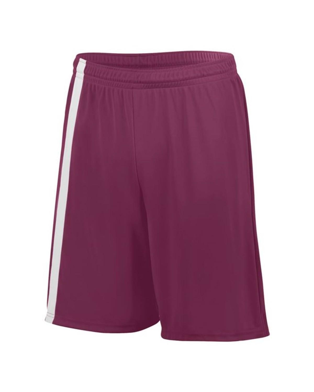 1623 Augusta Sportswear MAROON/ WHITE