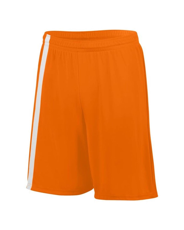 1623 Augusta Sportswear Power Orange/ White