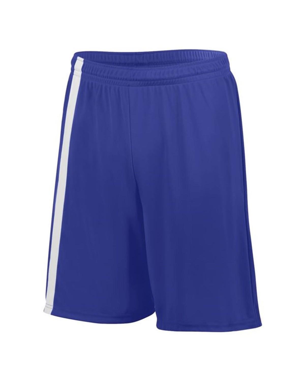 1623 Augusta Sportswear PURPLE/ WHITE