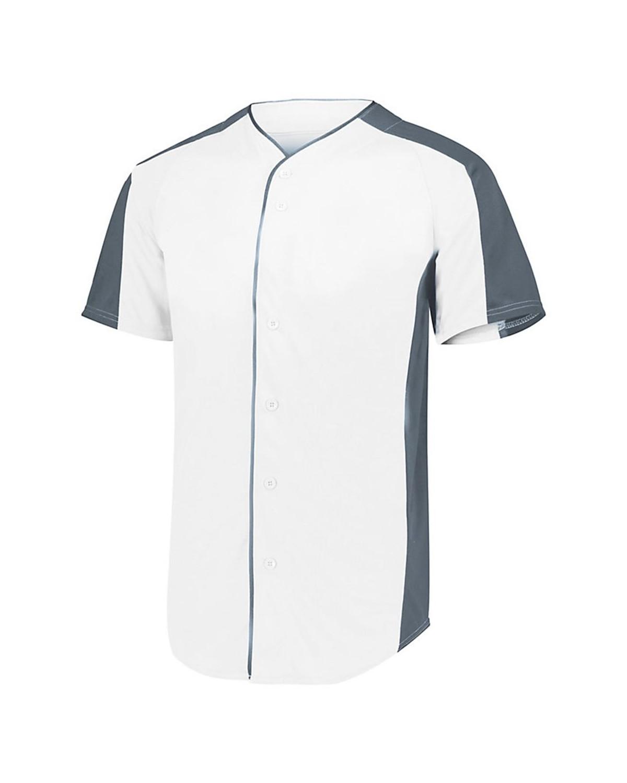 1655 Augusta Sportswear WHITE/ GRAPHITE