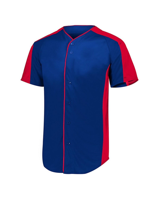 1655 Augusta Sportswear NAVY/ RED