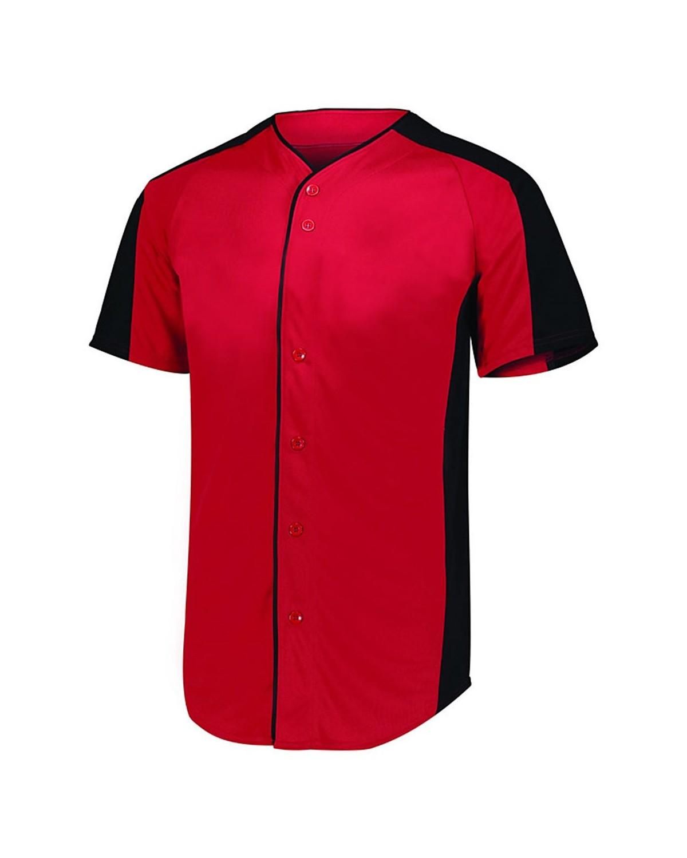 1655 Augusta Sportswear RED/ BLACK