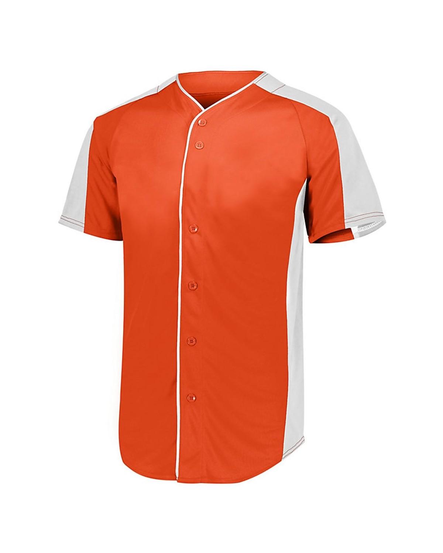 1655 Augusta Sportswear ORANGE/ WHITE