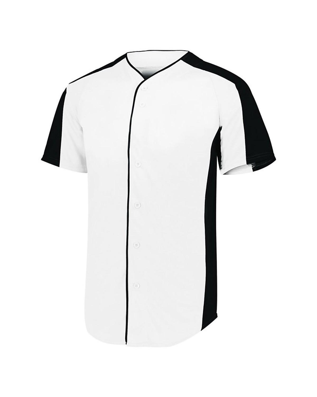 1655 Augusta Sportswear WHITE/ BLACK