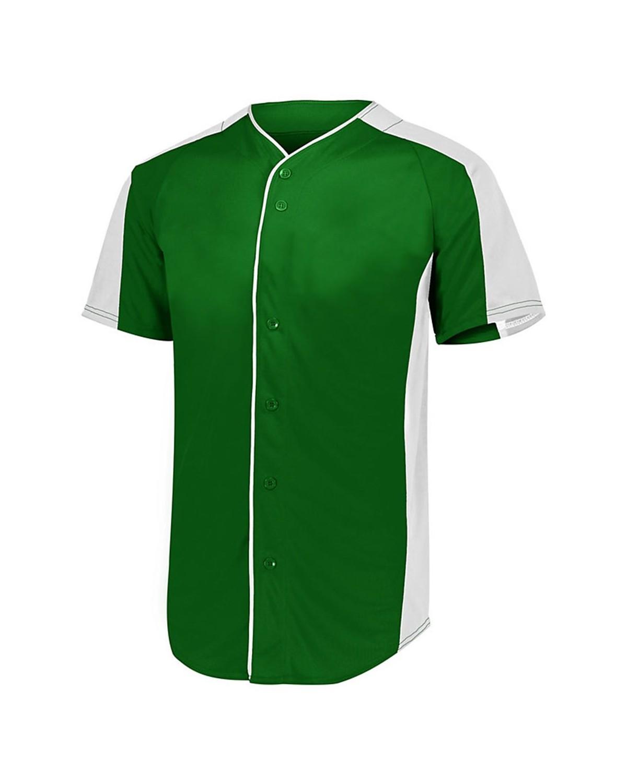 1655 Augusta Sportswear Dark Green/ White