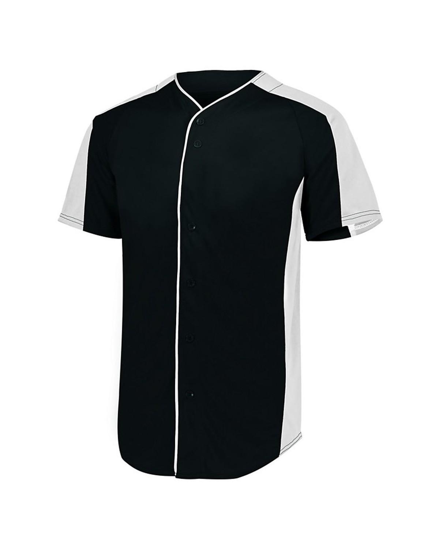 1655 Augusta Sportswear BLACK/ WHITE