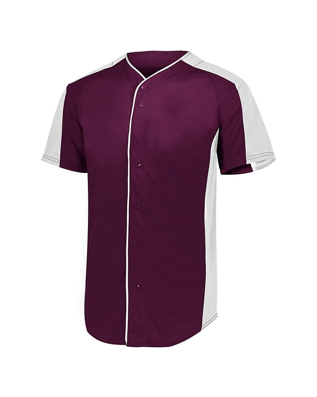 1655 Augusta Sportswear MAROON/ WHITE