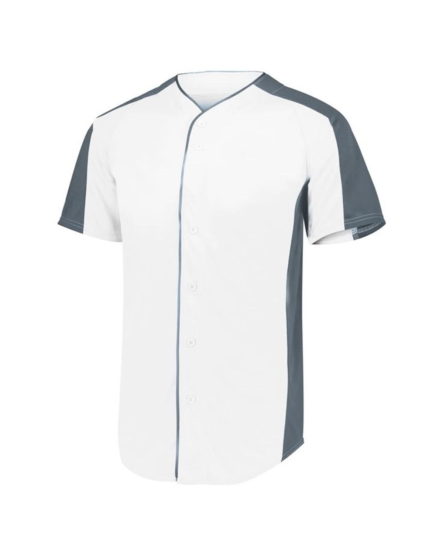 1656 Augusta Sportswear WHITE/ GRAPHITE