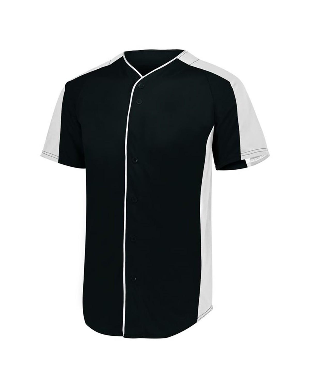 1656 Augusta Sportswear BLACK/ WHITE