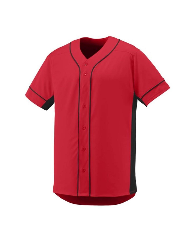 1660 Augusta Sportswear RED/ BLACK