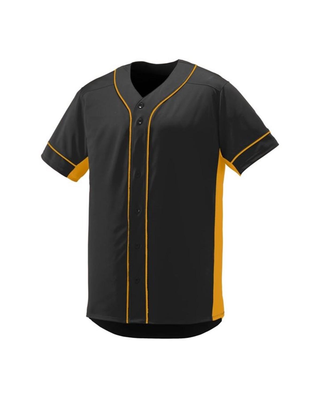 1660 Augusta Sportswear BLACK/ GOLD