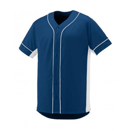 1660 Augusta Sportswear 1660 Slugger Jersey NAVY/ WHITE