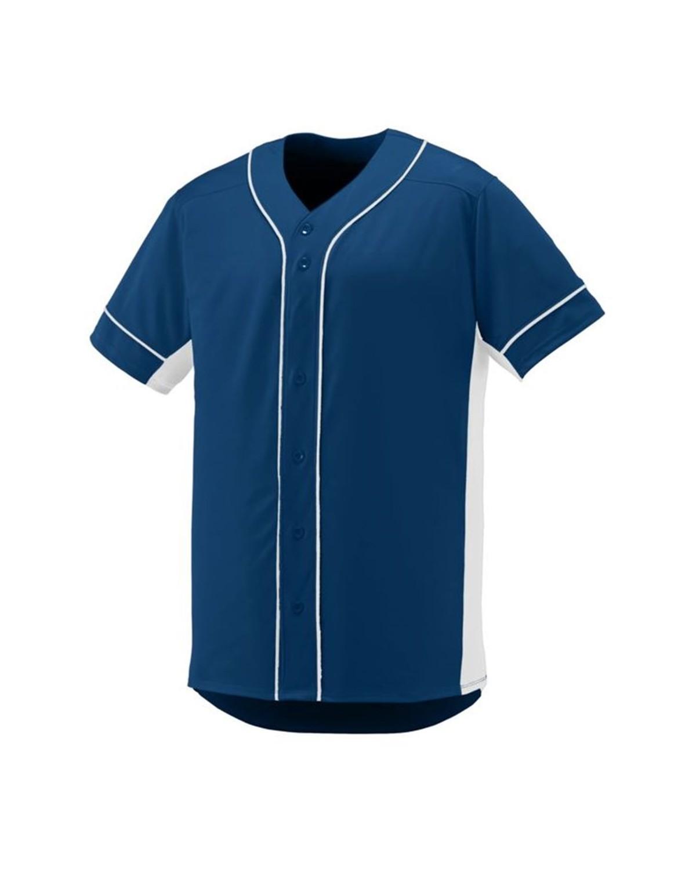 1660 Augusta Sportswear NAVY/ WHITE