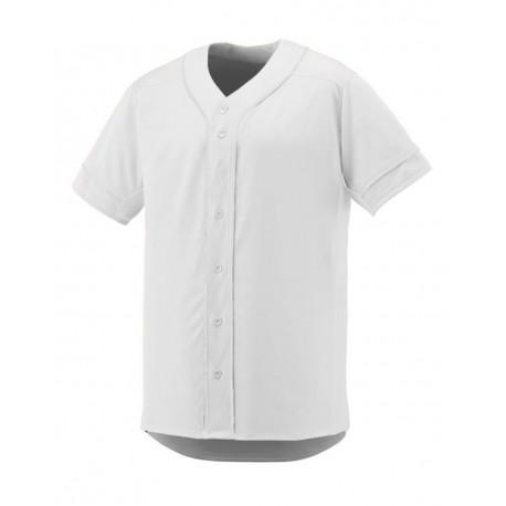 1661 Augusta Sportswear 1661 Youth Slugger Jersey WHITE/ WHITE