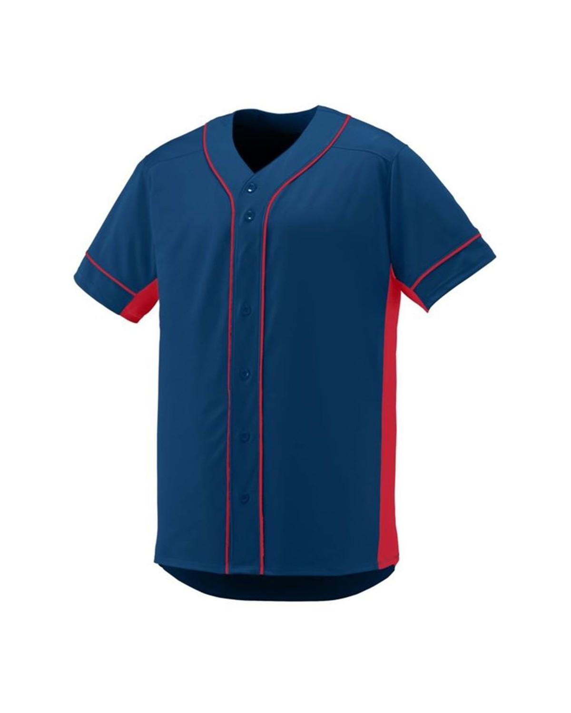 1661 Augusta Sportswear NAVY/ RED