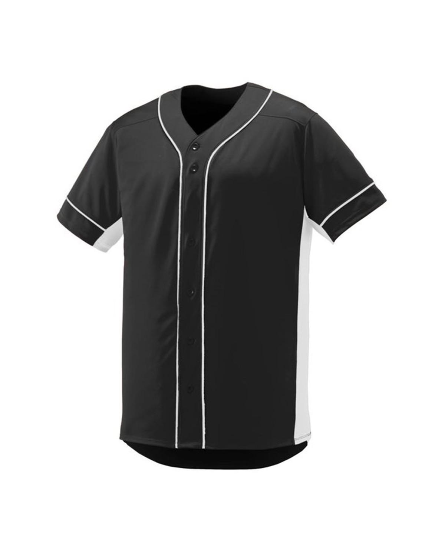 1661 Augusta Sportswear BLACK/ WHITE