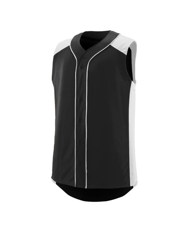 1663 Augusta Sportswear BLACK/ WHITE
