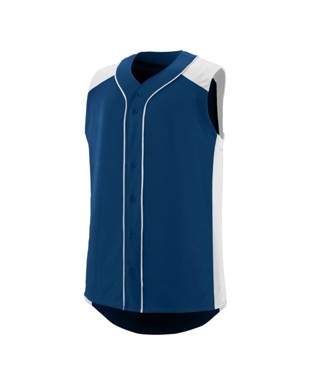 1663 Augusta Sportswear NAVY/ WHITE