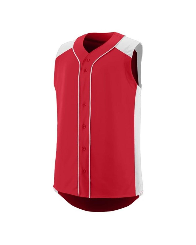 1663 Augusta Sportswear RED/ WHITE