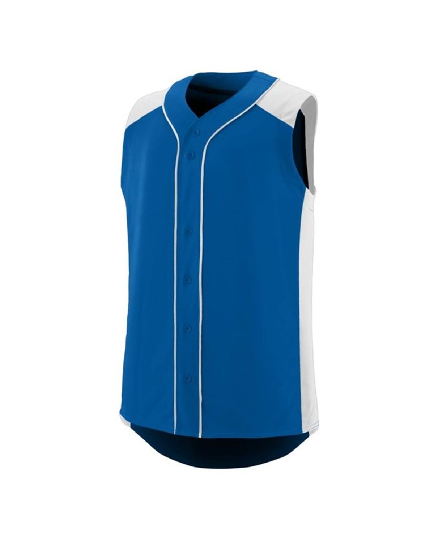 1663 Augusta Sportswear ROYAL/ WHITE