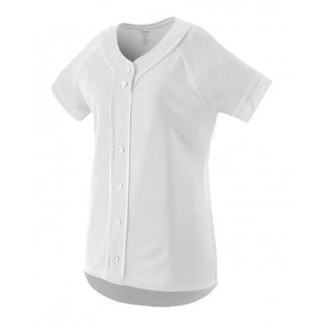 1665 Augusta Sportswear 1665 Women's Winner Jersey WHITE/ WHITE
