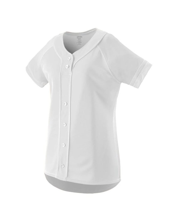 1665 Augusta Sportswear WHITE/ WHITE