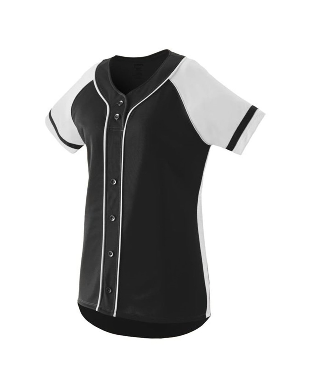 1666 Augusta Sportswear BLACK/ WHITE