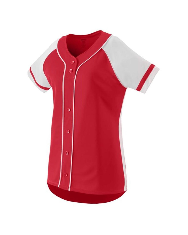 1666 Augusta Sportswear RED/ WHITE