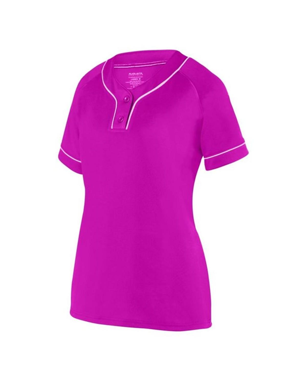 1670 Augusta Sportswear Power Pink/ White