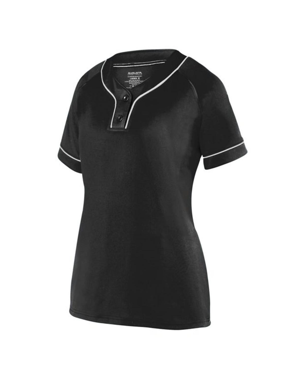 1670 Augusta Sportswear BLACK/ WHITE