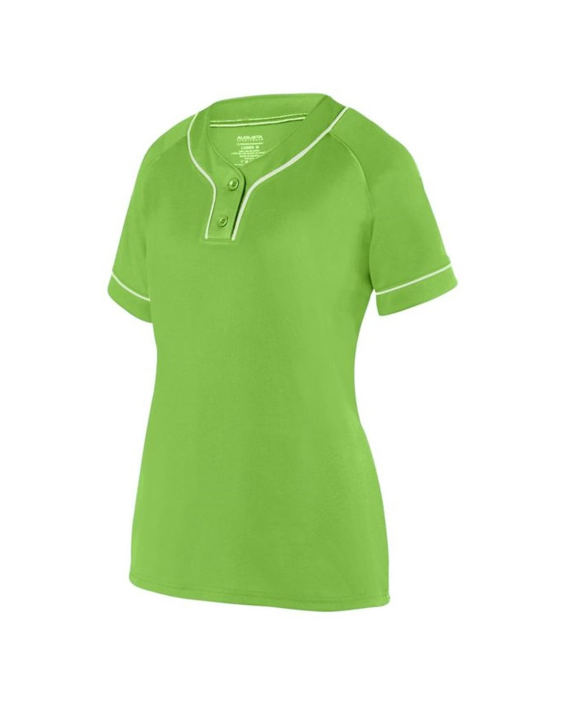 1671 Augusta Sportswear LIME/ WHITE