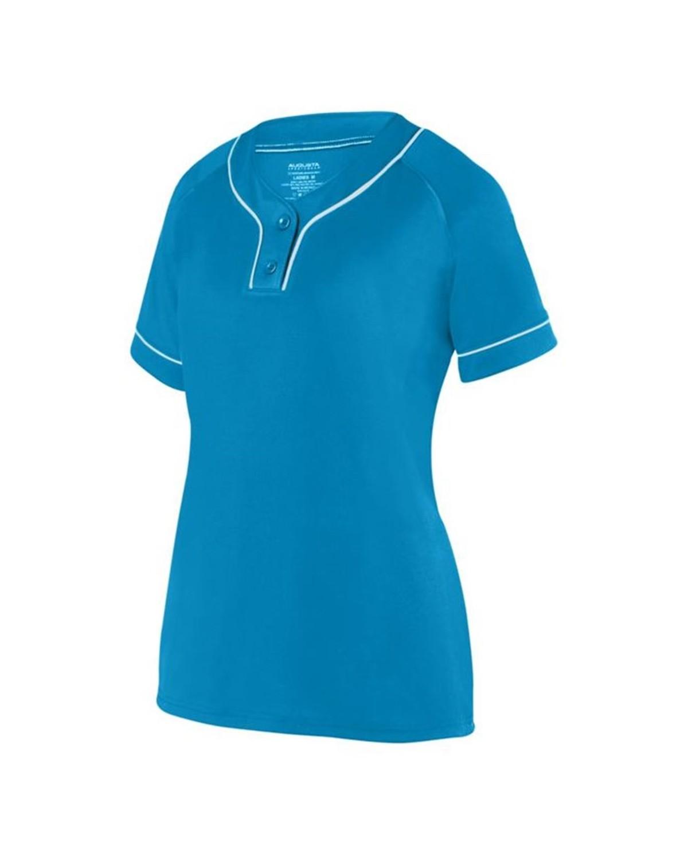 1671 Augusta Sportswear Power Blue/ White