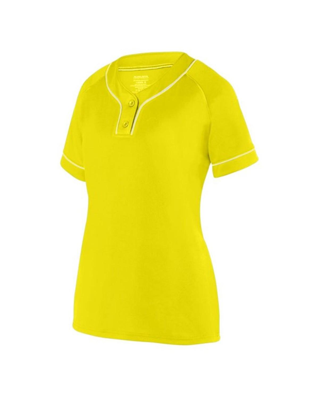 1671 Augusta Sportswear Power Yellow/ White