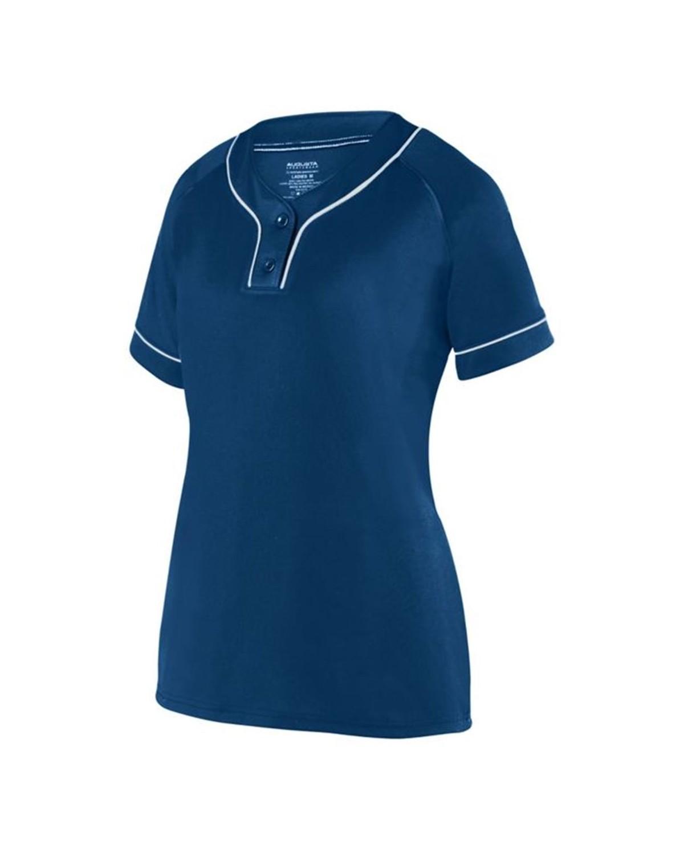 1671 Augusta Sportswear NAVY/ WHITE