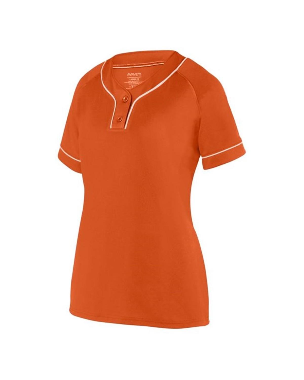 1671 Augusta Sportswear ORANGE/ WHITE