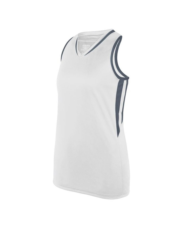 1672 Augusta Sportswear WHITE/ GRAPHITE