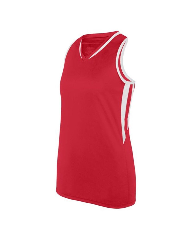 1672 Augusta Sportswear RED/ WHITE