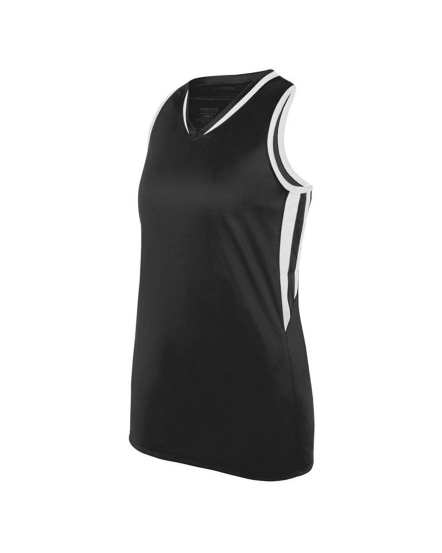 1673 Augusta Sportswear BLACK/ WHITE