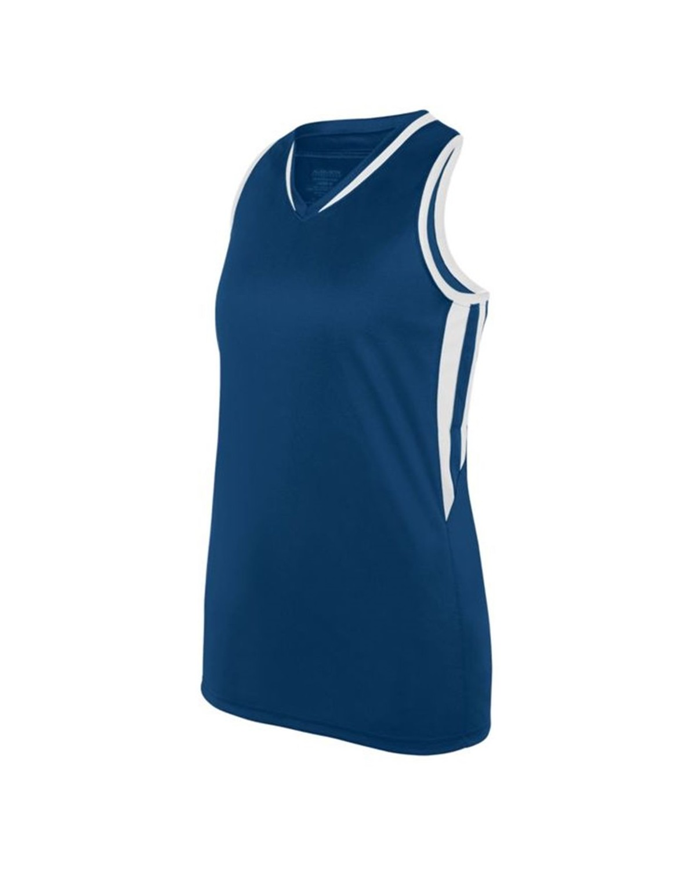 1673 Augusta Sportswear NAVY/ WHITE