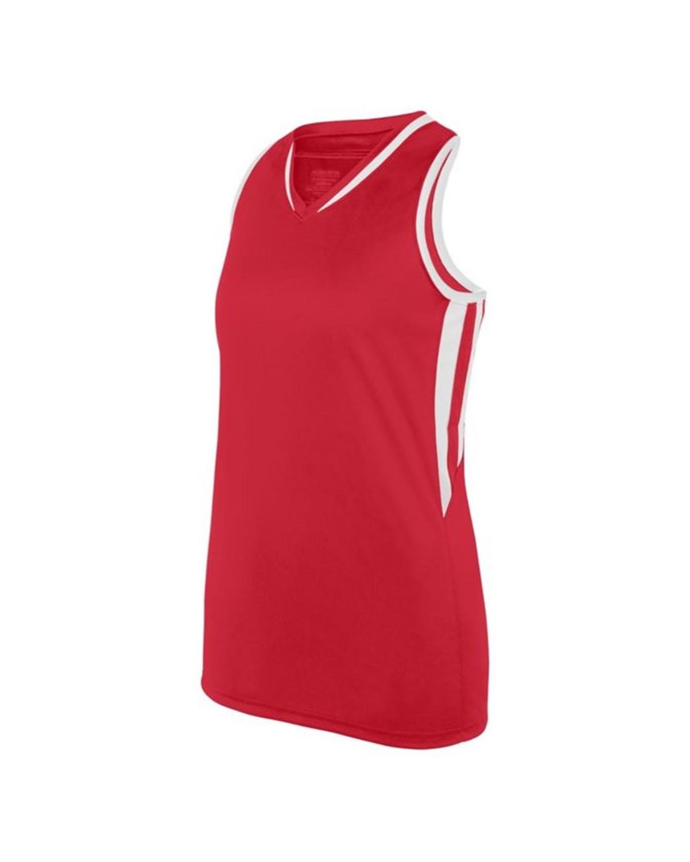 1673 Augusta Sportswear RED/ WHITE