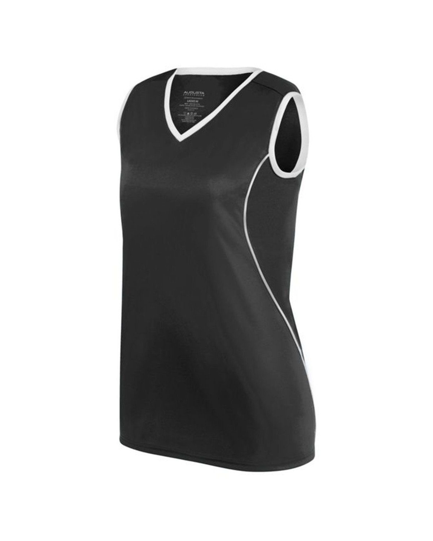 1675 Augusta Sportswear BLACK/ WHITE